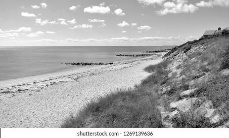 Jetties - an ocean / beach of Jetties in Dennisport, Cape Cod, Massachusetts