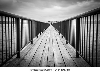 jetty at the Ammersee in Germany