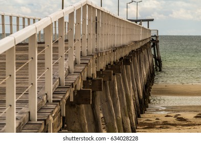 The Jetty and beach area of Largs Bay Adelaide South Australia