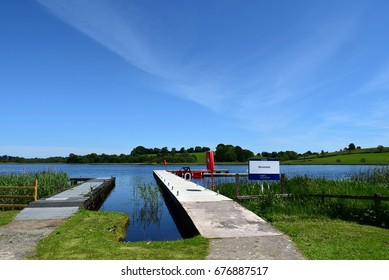 Jetty, Devenish Island, Lower Lough Erne, County Fermanagh, Northern Ireland