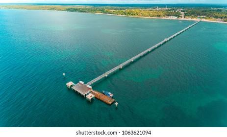 jetty, mafia island