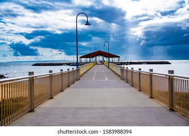 Jetty at Redcliffe Queensland early morning