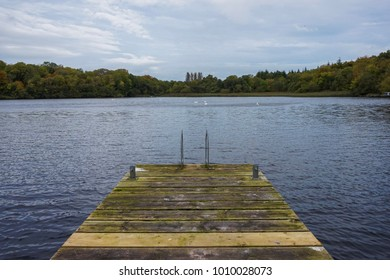 Jetty in upper Lough Erne, Northern Ireland