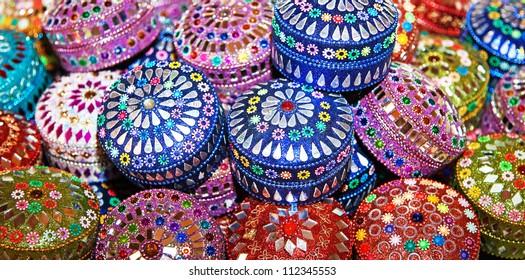Jewel boxes.