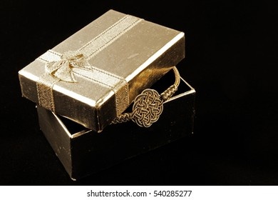 Jewellery in the gift box