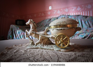 Jewelry box - carriage in abandoned house