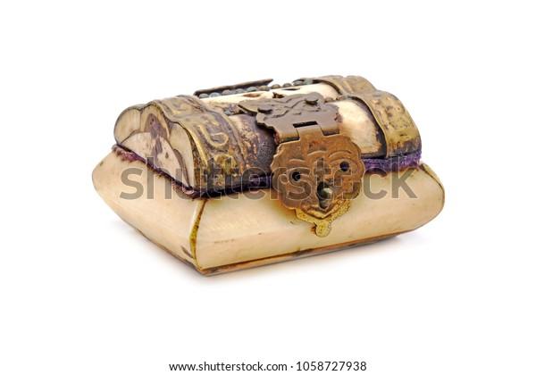 Jewelry Box Tibetan Style Bone Carving Stock Photo Edit Now 1058727938