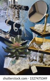 Jewelry Collection at Bridal Shop (Arizona, 2019)