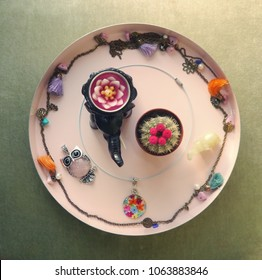 Jewelry Display Serving Plate