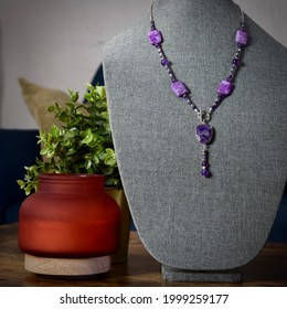 Jewelry and Foliage in Home