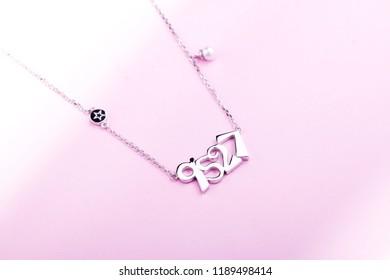 jewelry gold daimond  necklace