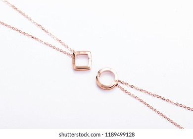 jewelry gold daimond  necklace