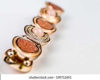 Jewelry with shallow Focus