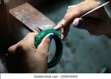 Jewelry wax model making