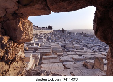 Jewish Cemetery on the mount of Olives, East Jerusalem