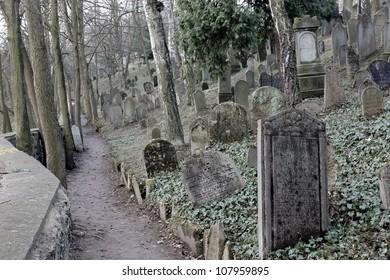 Jewish Cemetery in Trebic, Czech Republic - exterior