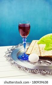 Jewish Passover holiday celebration
