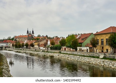 Jewish quarter and chateau, Trebic, Czech republic