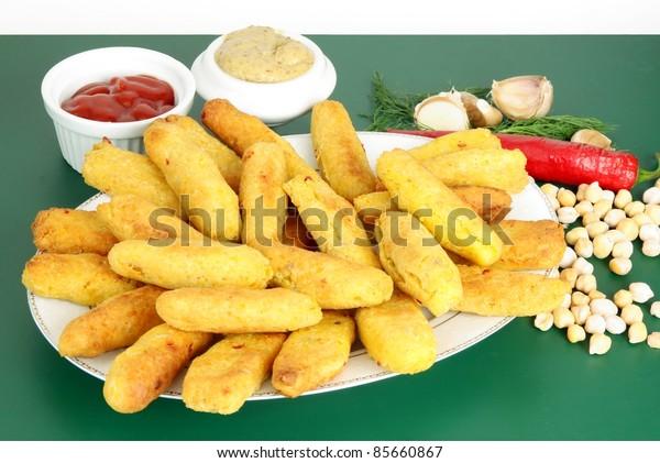 jewish recipe for chick-pea cracknel