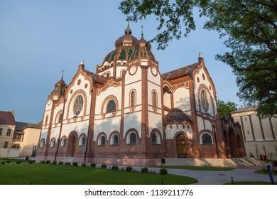 Jewish synagogue in Subotica, Serbia