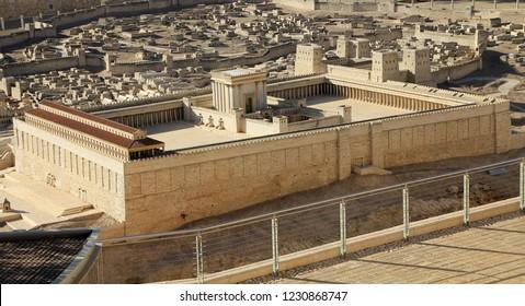 Jewish Temple in Jerusalem
