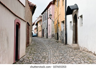 Jewish town in Trebic (Moravia, Czech Republic). UNESCO protected the oldest Middle ages settlement of Jewish community in Central Europe.