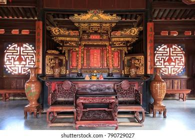 Jianshui China. 12 05 2017. Zhu  family garden, old traditional chinese  house in Jianshui china