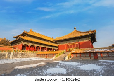 Jiaotaidian (Hall of Union) at the Forbidden City in Beijing, China
