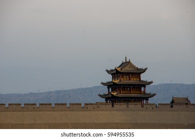 Jiayu Pass, Jiayuguan, China. Silk Road.