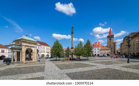 Jicin city in the Czech Republic
