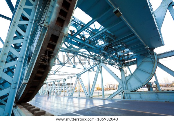 Jiefang-Steel bridge in tianjin