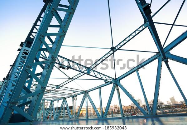 Jiefang-Steel bridge in tianjin