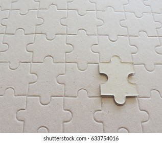 jigsaw pieces on jigsaw background.