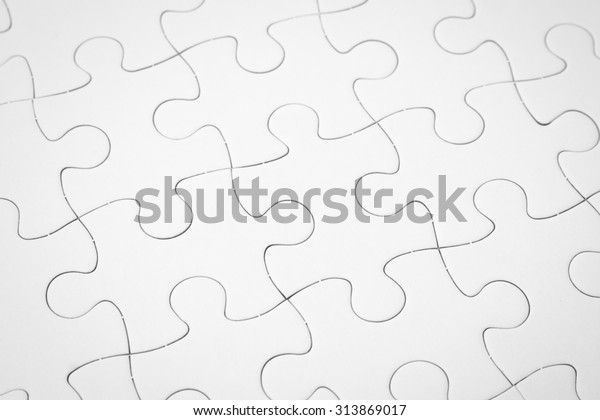 Jigsaw Puzzle Stock Photo (Edit Now) 313869017