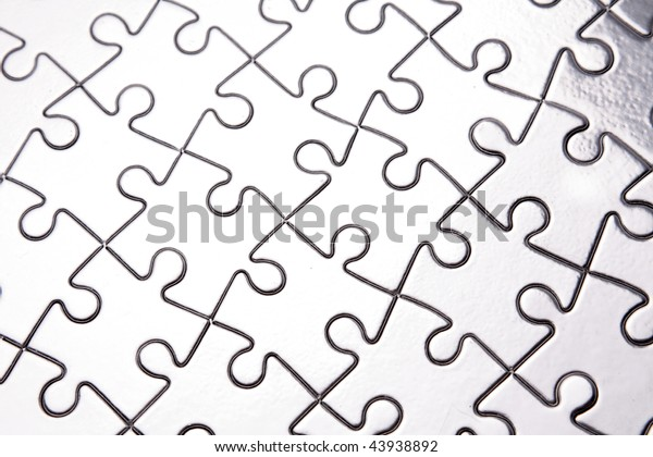 Jigsaw Puzzle Stock Photo (Edit Now) 43938892
