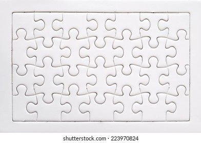 Jigsaw puzzle, background