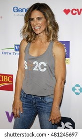 Jillian Michaels at the 5th Biennial Stand Up To Cancer held at the Walt Disney Concert Hall in Los Angeles, USA on September 9, 2016.
