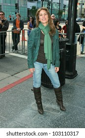 Jillian Michaels at the induction ceremony for Mary Steenburgen into the  Hollywood Walk of Fame, Hollywood Blvd., Hollywood. CA. 12-16-09
