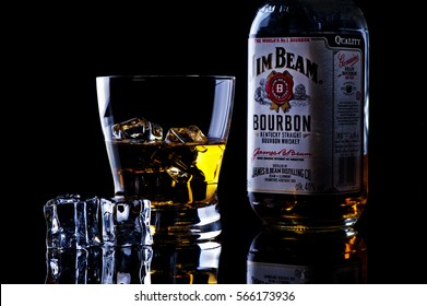 Jim Beam is one of best selling brands of bourbon in the world, produced by Beam Inc. in Clermont, Kentucky.