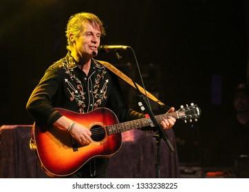 Jim Cuddy , Regent Theatre , Oshawa Ontario Canada, 2018 02 17 Jim Cuddy of the Jim Cuddy Band and lead singer of Blue Rodeo