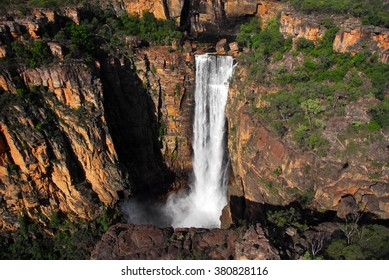 The Jim Jim Falls in Kakadu National Park, the Northern Territory of Australia.