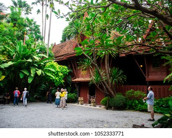 The Jim Thompson House is a museum in Bangkok, Thailand, Oct 9th, 2016.