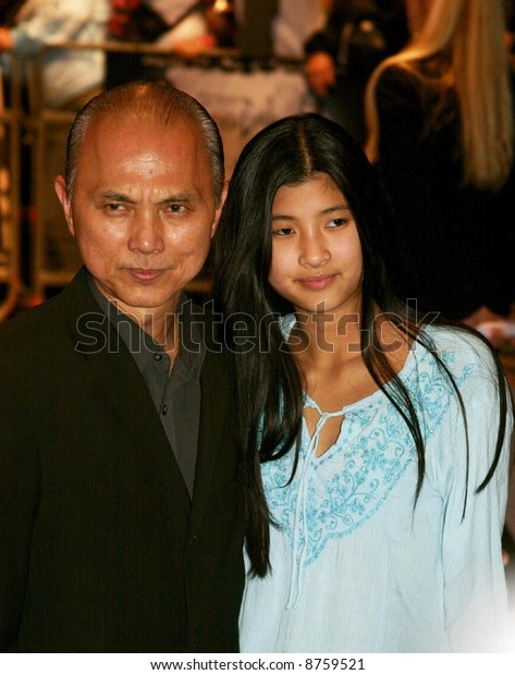 Jimmy Choo Fashion Designer His Daughter Stock Photo Edit Now 8759521
