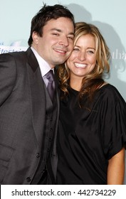 Jimmy Fallon and Nancy Juvonen at the World premiere of 'He's Just Not That Into You' held at the Grauman's Chinese Theater in Hollywood, USA on February 2, 2009.