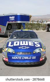 Jimmy Johnson's race car