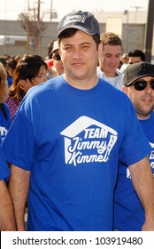 Jimmy Kimmel at the 'American Dream 5k Walk' Benefitting Habitat for Humanity. Pacoima Plaza, Pacoima, CA. 10-10-09