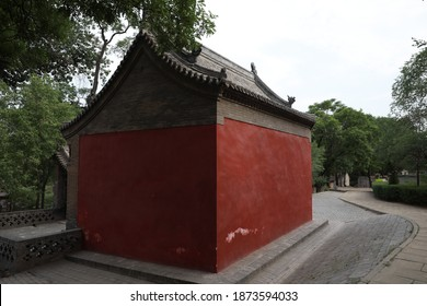 Jinci temple in Taiyuan, Shanxi Province, China, is a famous scenic spot of ancient architecture.