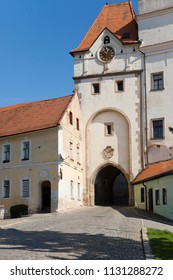 Jindrichuv Hradec castle in South Bohemia, Czech Republic