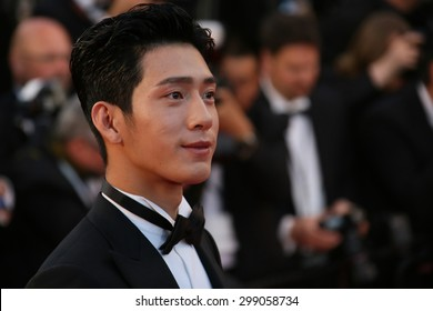 Jing Boran attends the premiere of 'The Sea Of Trees' during the 68th annual Cannes Film Festival on May 16, 2015 in Cannes, France.