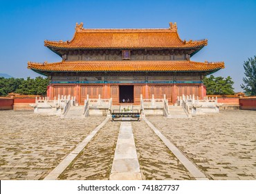 Jingling Tomb for the Kangxi Emperor in Eastern Qing Tombs, Hebei, China